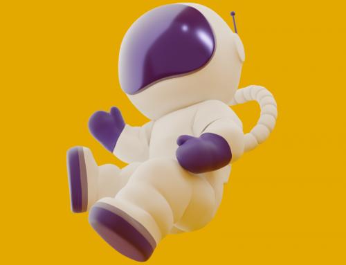 Personnage 3D pour Logo Carrément Branché